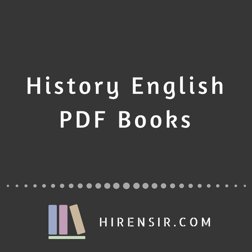 History English PDF Books