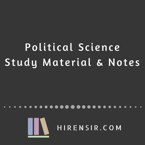 Political-Science-–-Study-Material-Notes