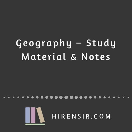 Geography Physical India And World Notes Pdf English Hiren