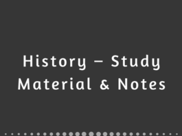 History – Study Material & Notes